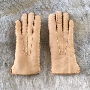 Lamb Fur Gloves - Size 7